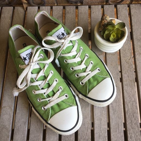 0cd398ebf49ab4 Converse Shoes - Converse All Stars Pea Green Low Profile Sneakers